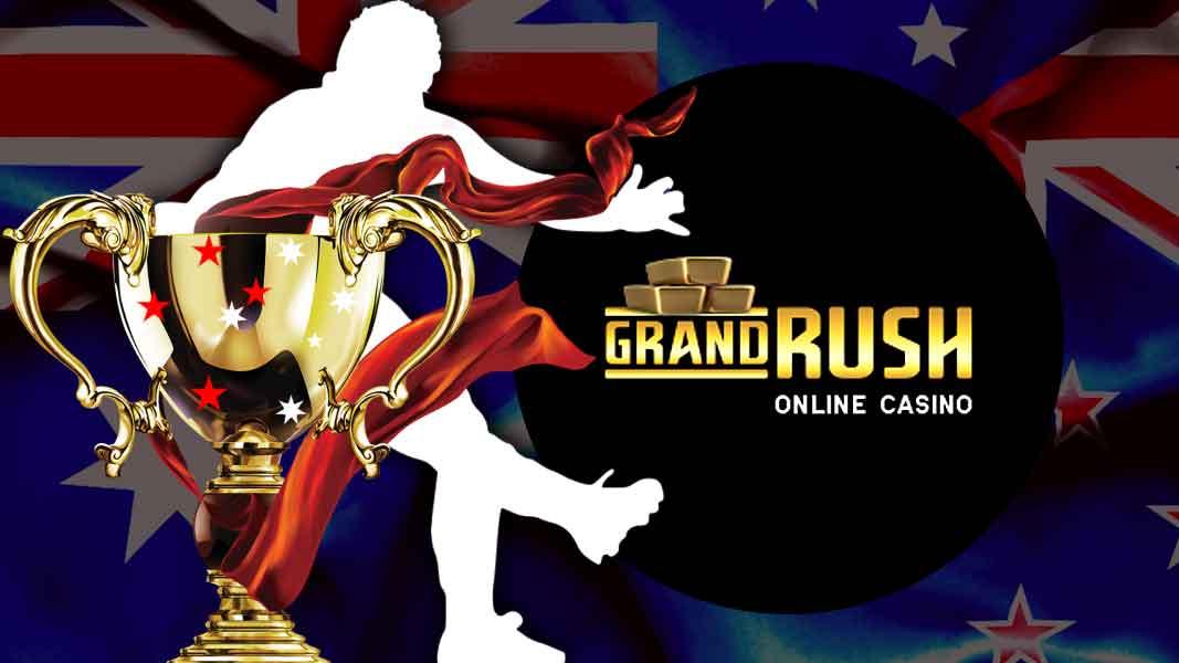 It's Game On Grand Rush Casino!