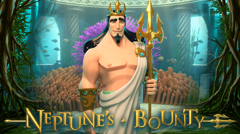 Meet The Ruler of The Oceans in our New Slot