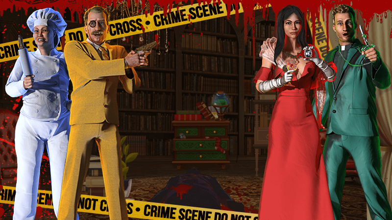 Solve a Murder Mystery in our New Pokie