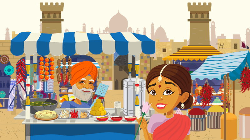 Discover colourful and spicy India in our new online pokie!