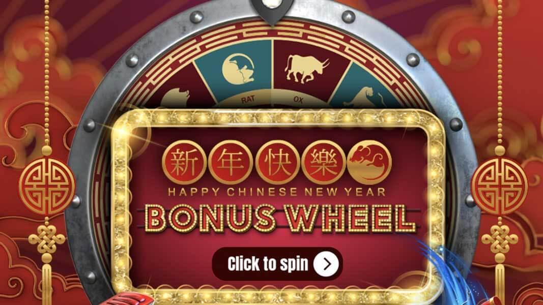 Grand Rush Casino Chinese New Year Wheel Of Fortune